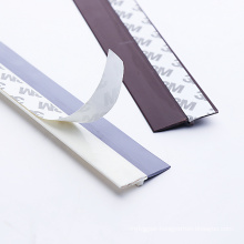 sealing bars for door bottom Soft hard combination windproof sealing strip