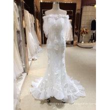 Русалка слоновая кость свадебные платья с обертывания
