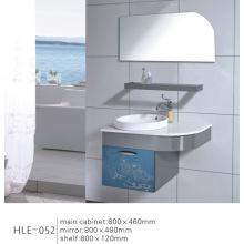 Colorido estilo moderno de pared montado con estante Gabinete de acero inoxidable