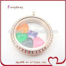 2015 venda Quente nova jóia importação china produto flutuante charme atacado para medalhão flutuante