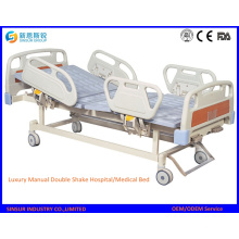 Luxus-Manual Double Shake / Zwei Funktion Medical / Hospital Bed