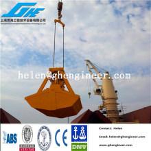 Control remoto inalámbrico agarre hidráulico para material a granel, madera, fertilizante, carbón, arena