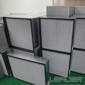High temperature resistant efficient HEPA air filter