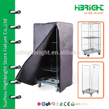 Lager-Kommissionier-Ausrüstung, Stahl-Logistik-Falten isolierte Lagerung Roll-Container-Hersteller