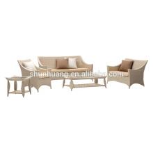 popular design outdoor rattan wicker furniture garden sofa set