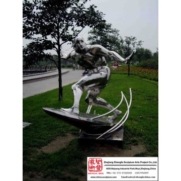 High quality Garden Stainless Steel Sculpture