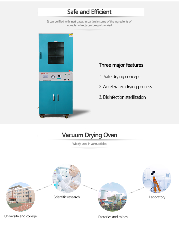 Vertical Hot Air Circulating Vacuum Drying Oven