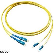 Cable de conexión de fibra óptica Sc-LC