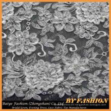 3D Lace Embroidered Sequins Lace Textile Bridal Lace 52'' No.CA164SB