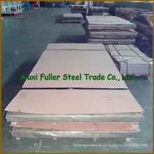 Folha de aço inoxidável frente e verso da chapa de aço inoxidável AISI 2205