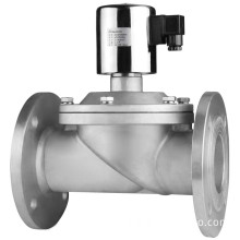 Solenoid Valve -- Large Diameter Direct Acting -- Flange Type
