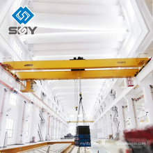 Heavy duty electromagnetic lifting overhead crane