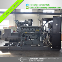 Factory price containerized silent type 1500kva/1200kw generator diesel with Perkin engine 4012-46TAG2A