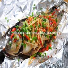 Приготовление пищи / приготовление мягкой алюминиевой варочной фольги