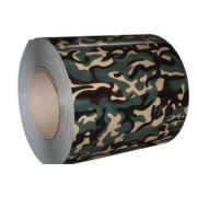 Camouflage Colored Galvanized Steel Coil / Prepainted Galva