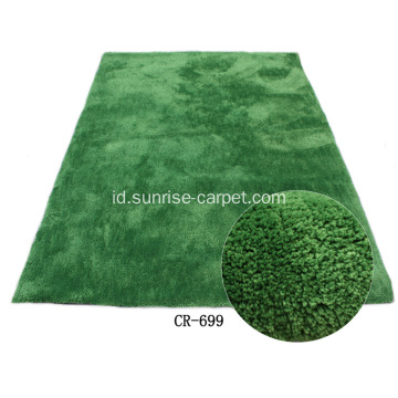 Microfiber Shaggy dengan Plain Color