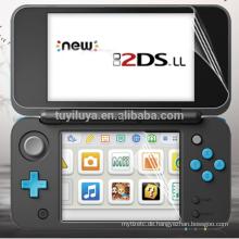 Hote neuer LCD-Schirm-Schutz Anti Film + volle Abdeckungshaut für Nintendo NEUES 2DS XL LL NEUES 2DSLL