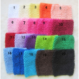 Crochet Headband,20*13cm Kids Tube Top Wrapped Chest 20 Colors