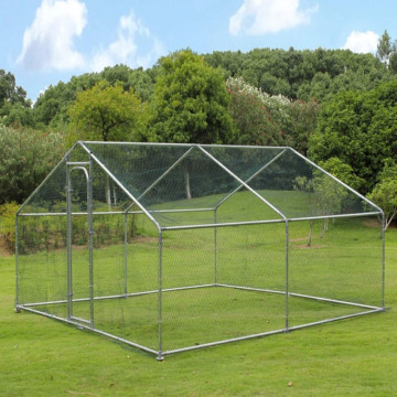 Top Cover Galvanized Chicken Run