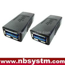 Adaptador USB 3.0, USB Uma fêmea para uma fêmea