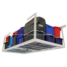 Rack de armazenamento de garagem no teto