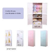 Многослойная мультяшная одежда Детский простой шкаф