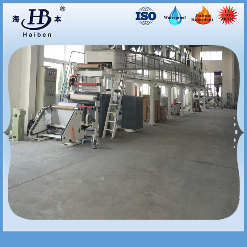 machine of aluminized fiberglass fabric-1