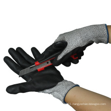NMSAFETY anti cut gloves for glass industry