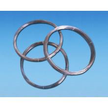 Recubrimiento de metalización por vacío de alta pureza Recubrimiento de evaporación de alambre de tungsteno negro Dia0.75mm