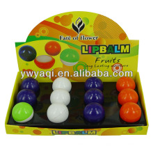 Mais barato Popular hidratante bola labial em bola de tênis de mesa