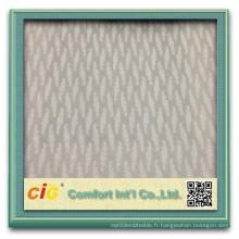 Tissu en polyester élégant en relief