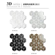 3D Mosaico Cerâmico Forma Especial