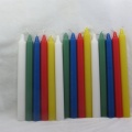 multi-colored party use candle