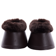High Quality Lambskin Leather Bell Boots