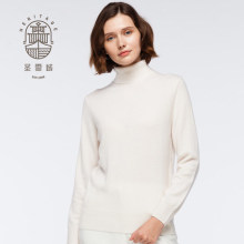 Wanita Kasmir Turtle Neck Sweater
