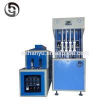 Profissional Fabricante Semi-Automático 4 Cavidades Água Bebida plástico Bottle Blow Molding Machine preço com auto-cair