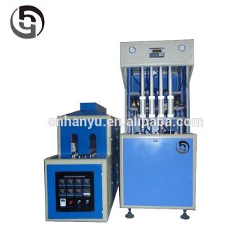 Профессиональное изготовление Полуавтоматического 4 полости питьевая вода пластиковая бутылка Выдувные машины цена с автоматической капельной
