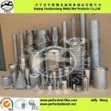 Stainless Steel 304 or 316L Perforated Metal Strainers&Cartridges