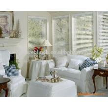 PVC- / Bambus- / hölzerne Jalousien Fertigen Sie multiple Farbenvorhangfenster besonders an