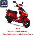 Znen ZN150T-46A CRYSTAL Scooter completo ricambio
