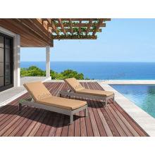 Lounge per esterni in Rattan in PE resistente ai raggi UV