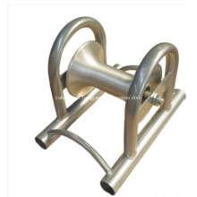 Rolo de tambor de cabo liso zincado