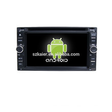 Quad core! Dvd do carro com link espelho / DVR / TPMS / OBD2 para 6.2 polegada tela sensível ao toque quad core 4.4 sistema Android Universal