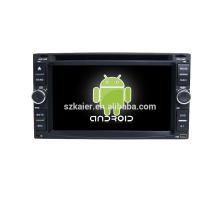 Четырехъядерный!автомобильный DVD с зеркальная связь/видеорегистратор/ТМЗ/obd2 для 6.2 дюймов сенсорный экран четырехъядерный процессор андроид 4.4 системы универсальных