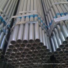 Stahl-Gewächshaus-Rohr galvanisiertes Stahlrohr