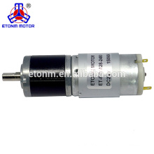 28mm 6v high torque 600rpm electric curtain dc gear motor