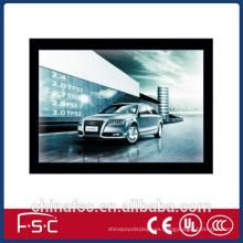 Caja de marcos magnéticos cartel LED