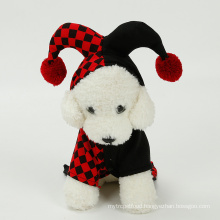 Hot Selling Halloween Dog Costumes Pet Clothes Cosplay Clown Suit Pet Costume