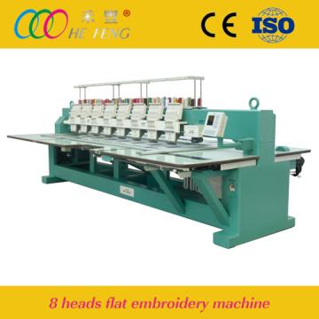 Hefeng 8 головки плоского вышивальная машина