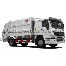 Sinotruk HOWO Rear Garbage Truck 22cbm